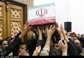 گلستان  پیکر شهید مدافع وطن «کندابی» در بندرگز تشییع میشود