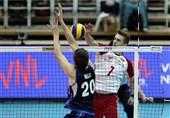 لیگ ملتهای والیبال|آتزوری مغلوب لهستان شد