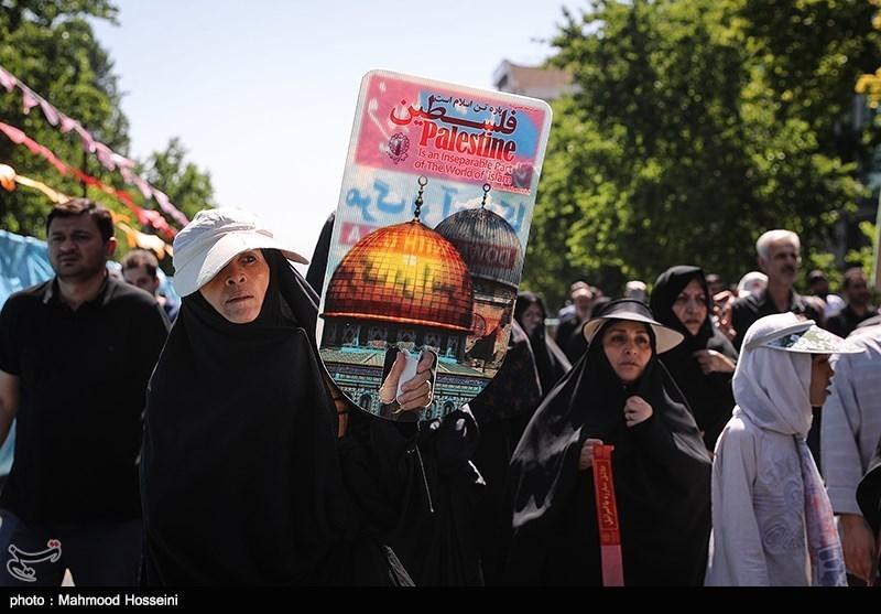 International Quds Day Rallies in Iranian Capital
