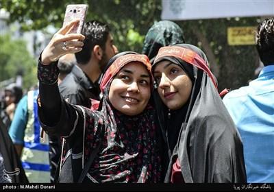 راهپیمایی روز قدس در تهران