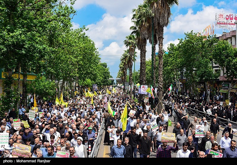 Participants in Iran's Quds Day Rallies Pledge to Remove 'Cancerous Tumor of Israel'