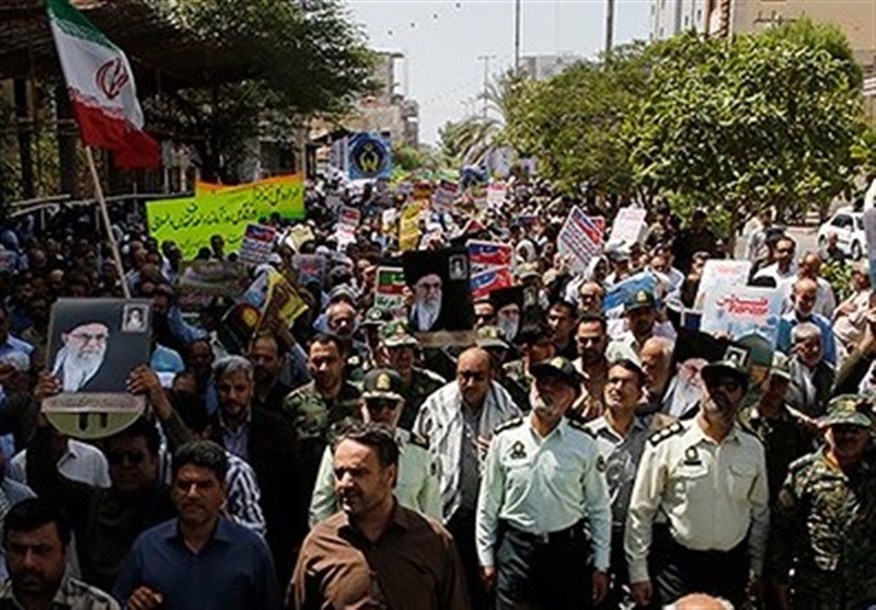 مسیرهای راهپیمایی روز جهانی قدس در استان بوشهر اعلام شد+ جدول