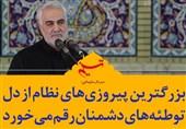 فتوتیتر| سردار سلیمانی: بزرگترین پیروزیهای نظام از دل توطئههای دشمنان رقم میخورد