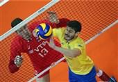 لیگ ملتهای والیبال|روسها در خانه شکست خوردند