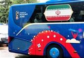 AFC Asian Cup: Iran Team Bus Slogan Confirmed