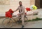 شهید مدافع حرم نیروی دریایی در قاب تصاویر