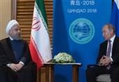 پوتین در دیدار با روحانی: همکاری ایران و روسیه در سوریه موفقیت آمیز بود
