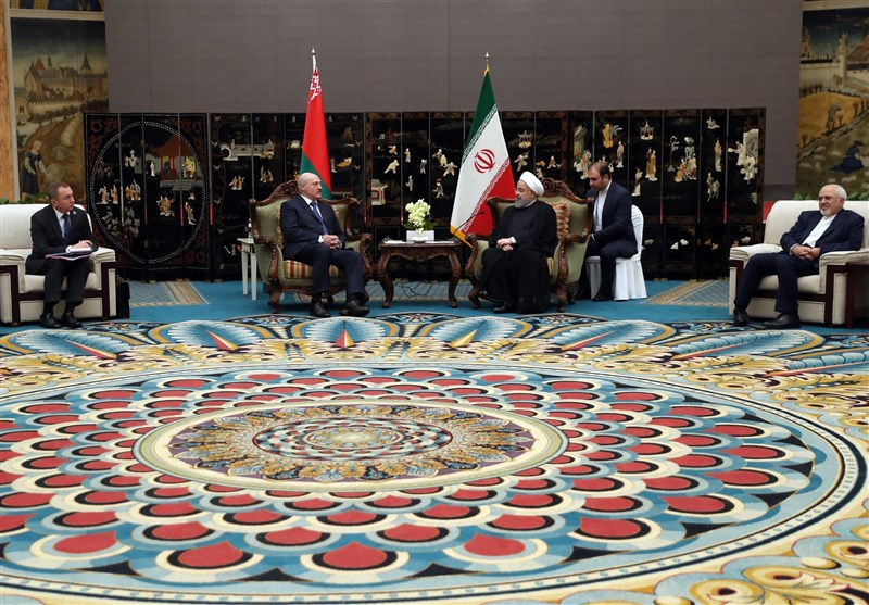 President Rouhani Urges Closer Iran-Belarus Ties