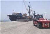 سیستان و بلوچستان| کشتی غول پیکر اقیانوسپیما در چابهار پهلو گرفت
