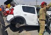 حضور 10 دقیقهای امدادگران هلال احمر در حوادث جادهای