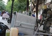 خنثیسازی مواد شیمیایی رها شده در خیابان ناصرخسرو + تصاویر