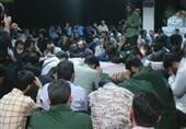 وداع با پیکر فرمانده جوان مدافع حرم، «خلیل تختینژاد»+عکس و فیلم