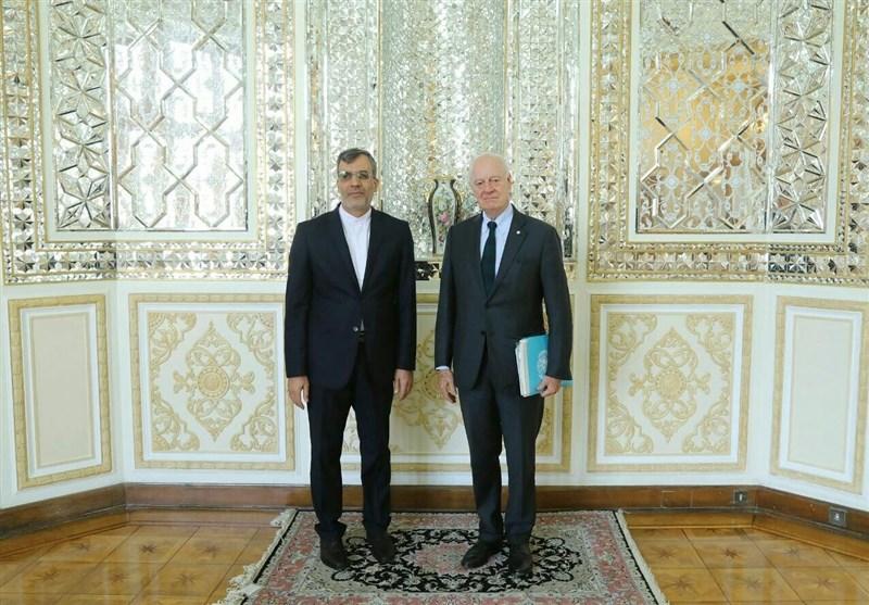 Iranian Diplomat Meets UN Syria Envoy in Switzerland