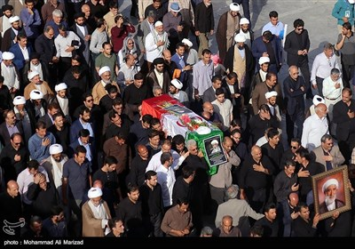 مراسم تشییع پیکر حجت الاسلام والمسلمین احمد احمدی - قم