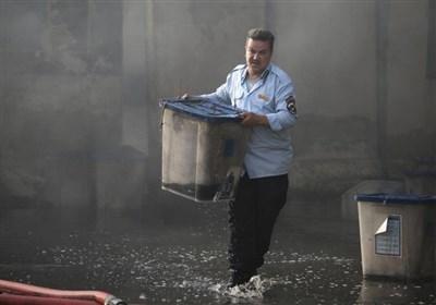 اندلاع حریق فی مستودع لصنادیق الاقتراع فی بغداد