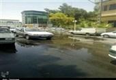 اسراف آب در شهر بیآب زاهدان پایان ندارد+تصاویر