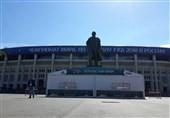 گزارش خبرنگار اعزامی تسنیم از روسیه| آمادهسازی ورزشگاه دیدار افتتاحیه جام جهانی + تصاویر