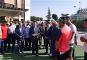 حضور رئیس کمیته ملی المپیک در اردوی تیم ملی قایقرانی+ تصاویر