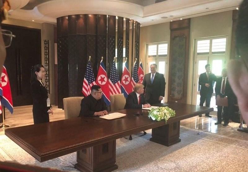 گزارش تسنیم| نشست تاریخی سنگاپور و بازی دو سر باخت برای ترامپ