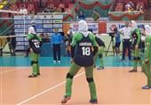 والیبال قهرمانی جوانان دختر آسیا |تیم ایران به عنوان تیم اول گروه صعود کرد