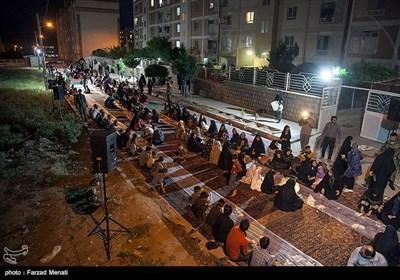 افطاری ساده در مسکن مهر بهزیستی - کرمانشاه