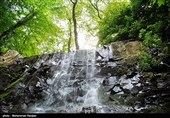 Lonak Waterfalls in Deylaman, North of Iran