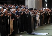 نماز پرشکوه عید فطر روی آنتن شبکه یک