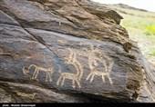 نقوش تاریخی در صخرههای تیمره +عکس