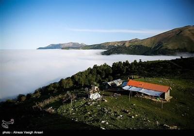 طبیعت ییلاقی بیلگادول و ایجاد دریاچه ابر