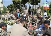 حضور جانبازان دفاع مقدس در پادگان دژبان ارتش+عکس