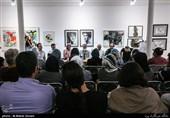 مراسم رونمایی از کتاب ششمین نمایشگاه مهمانی هنر