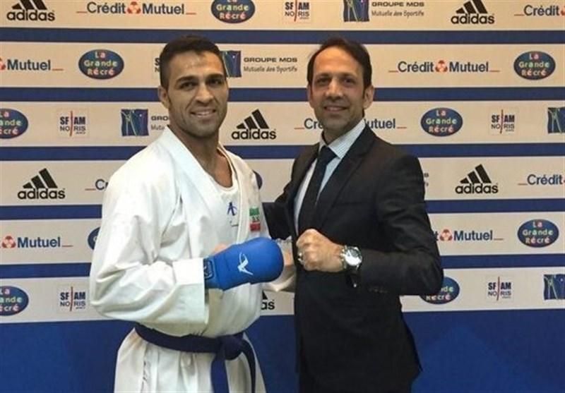 توضیحات پورشیب در خصوص طرح سوال از کادرفنی تیم ملی کاراته