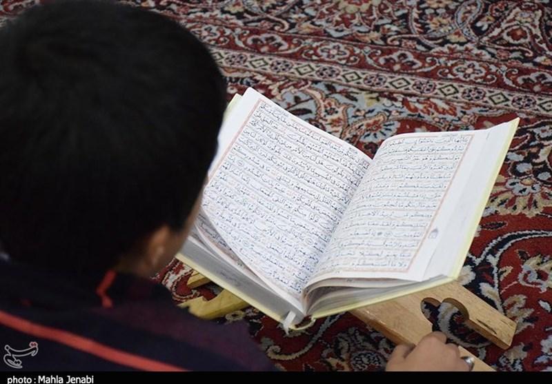 محفل انس با قرآن کریم در بیتالزهرای کرمان برگزار شد