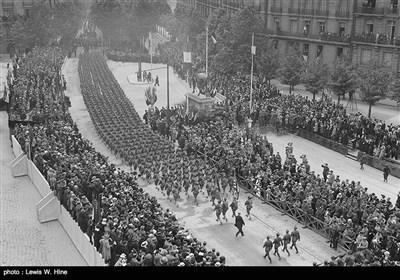 پہلی جنگ عظیم کے بعد فرانس کی چند تصاویر