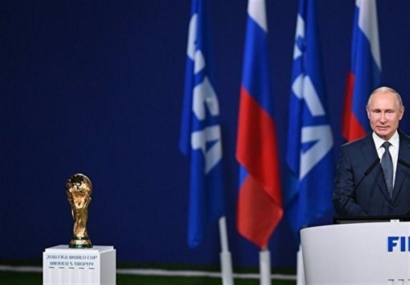 جام جهانی 2018 ا پوتین: روسیه قدردان حمایتهای لفظی و عملی 8 سال اخیر است