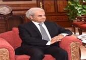 نخست وزیر دولت موقت پاکستان در اولین ملاقات خارجی با سفیر عربستان دیدار کرد