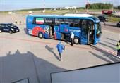 گزارش خبرنگار اعزامی تسنیم از روسیه| شاگردان کیروش 90 دقیقه در آسمان/ تیم ملی به سنپترزبورگ رسید
