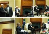 وزیر خارجه ایران به دیدار رئیس جمهور آفریقای جنوبی رفت