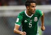 جامجهانی 2018| بازیکن موثر مکزیک جامجهانی را از دست داد