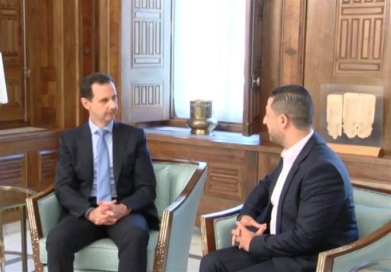 مشروح | بشار اسد: ایران در دفاع از سوریه خون داده/ بزودی به تهران میآیم/ ائتلاف ایران، سوریه و روسیه پابرجاست