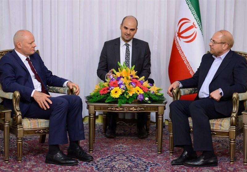 قالیباف در دیدار سفیر آلمان: نمیتوان انتظار داشت ایران هم تحریم باشد و هم در برجام بماند