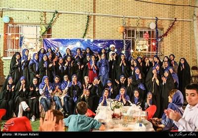 مراسم افطاری و جشن پایان سال مدرسه اُتیسم پیروزی