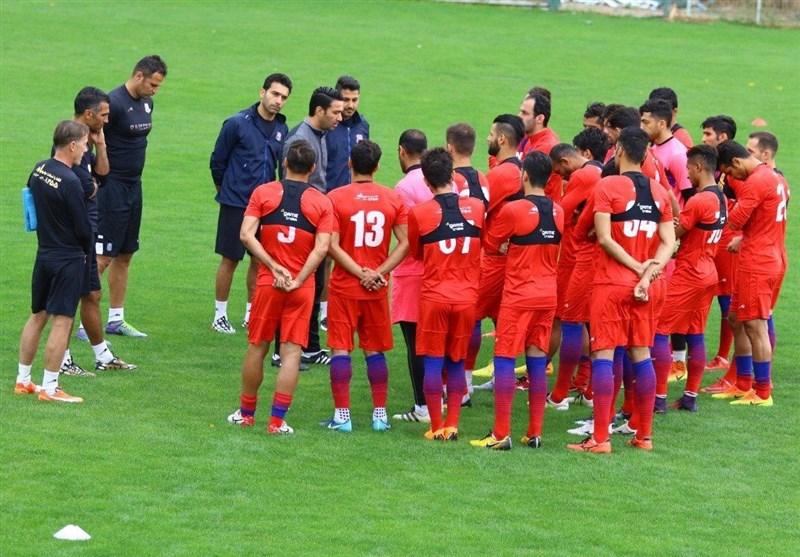 شروع تمرینات نساجی با یک روز تأخیر در تهران