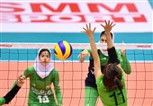 Asian Women's U-19 Volleyball Championship: Iran Beaten by Vietnam