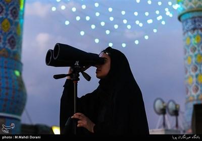 استهلال ماه شوال در تهران