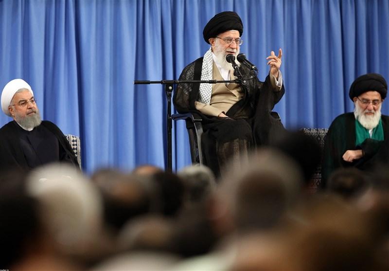 امام خامنهای در دیدار مسئولان و سفرای کشورهای اسلامی: رژیم صهیونیستی عامل اصلی ایجاد اختلاف در منطقه است