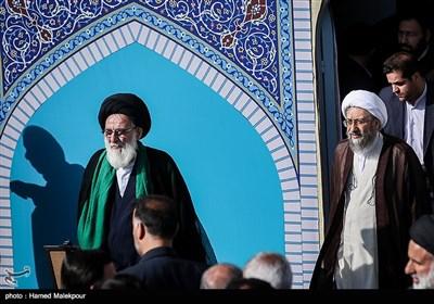 Ayatollah Khamenei Leads Eid Prayers in Tehran