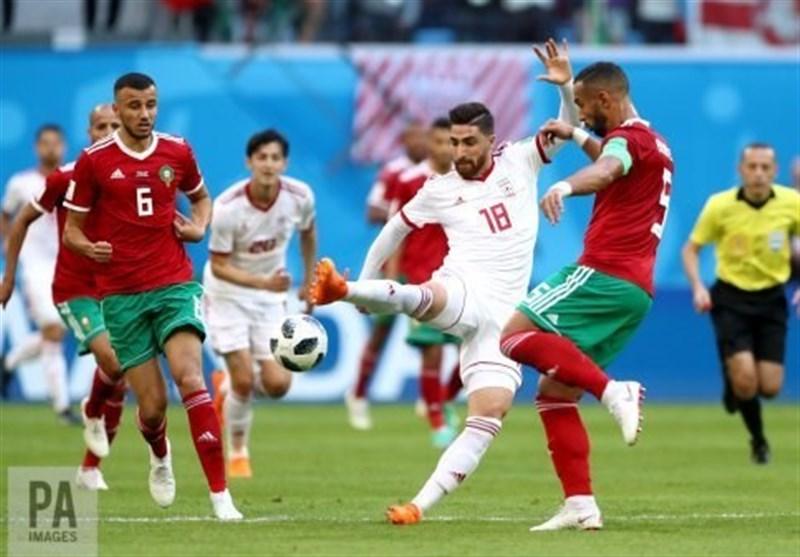 جام جهانی 2018  واکنش فیفا به برد دراماتیک ایران مقابل مراکش