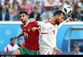 فیلم| اشاره گزارشگر بازی ایران و مراکش به ماجرای کفش نایک