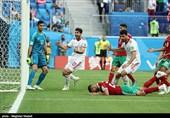 جام جهانی 2018| بازتاب شکست مراکش برابر ایران در رسانههای عربی/ از فرو ریختن با آتش دوست تا اشک و حسرت